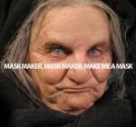 Old Woman Mask by CJ Goldman