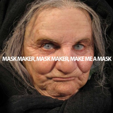 Old Woman Mask by CJ Goldman