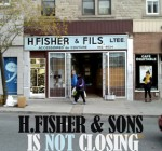 H. Fisher on St-Laurent Blvd.