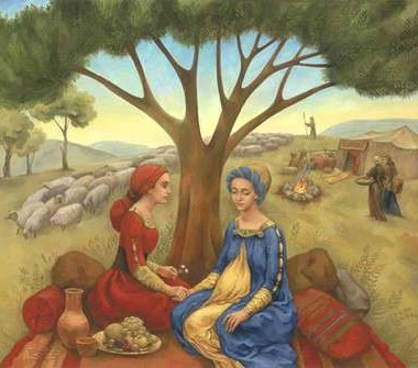 bible story of jacob leah and rachel