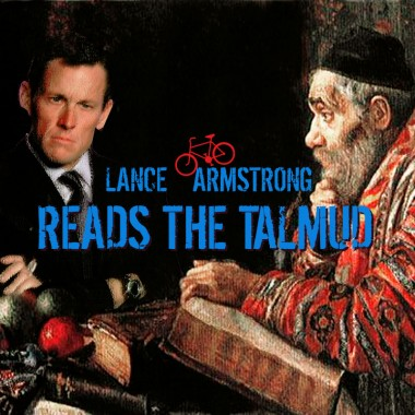 Lance Armstrong Reads The Talmud