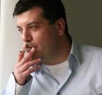 Portrait of the Arab-Israeli author Sayed Kashua.