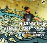 Ara Ball inside Adida Fallen Angel's art