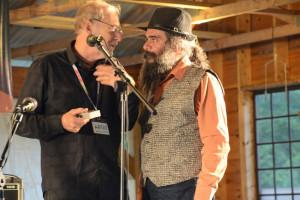 Michael Alpert and Psoy Korolenko at JetLAG